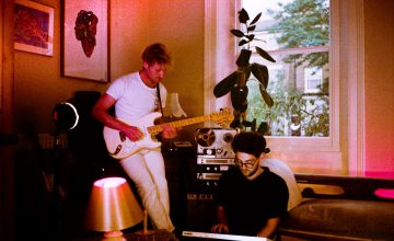 The Hi Frisco's recording studio, a shell where small masterpieces of visionary and contemporary pop are born.
